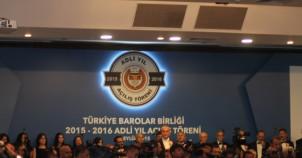 TBB 2015 Adli Yıl Açılış Töreni