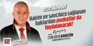 Av. Cem Kaya Karatün -Ortak Hedef Platformu