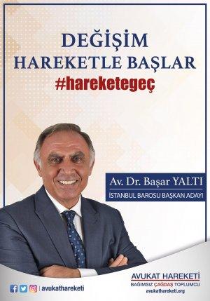 Av.Dr. Başar Yaltı - Avukat Hareketi