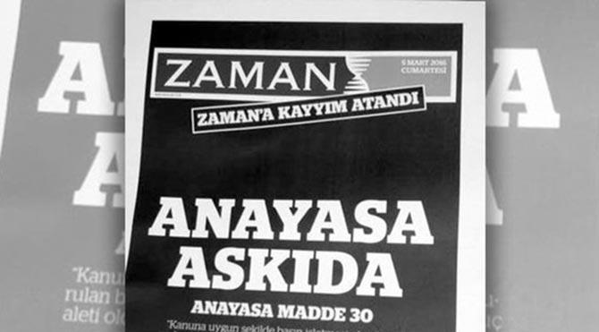 'Anayasa askıda' diyen Zaman'ın, Haziran Direnişi'ni itibarsızlaştıran manşetleri unutulmadı!