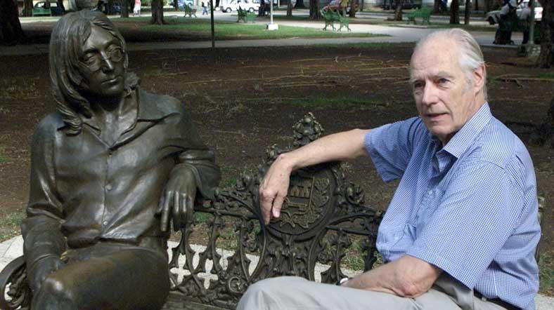 'Beşinci Beatle' George Martin hayatını kaybetti