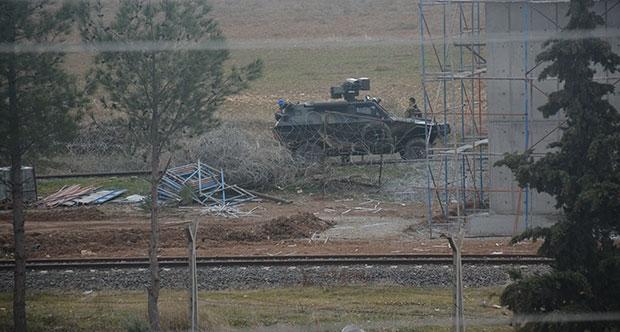 'IŞİD Türkiye tarafına ateş açtı' iddiası