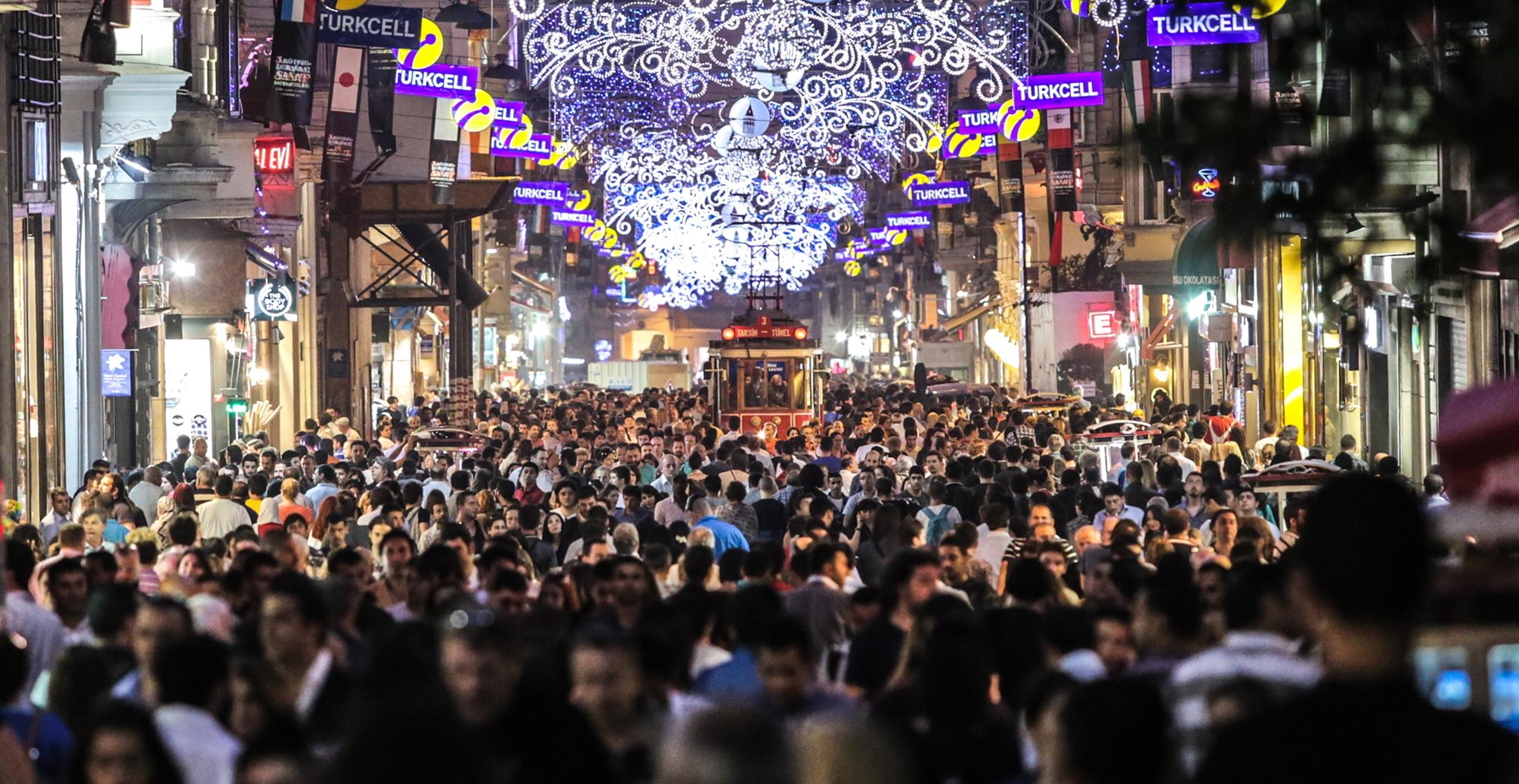 'İstanbul'da kendisini güvende hissetmeyenlerin oranı yüzde 59