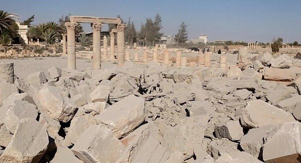 'Palmira'daki tapınaklar restore edilebilir'