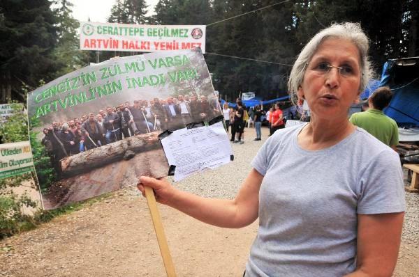 'Şirket Cerattepe'den inmezse, kolluk güçleri çekilmezse, direniş devam eder'