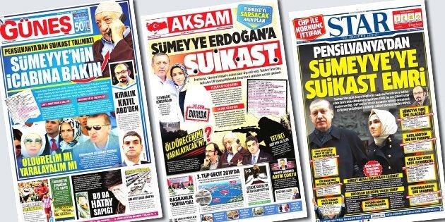 'Sümeyye Erdoğan'a suikast' manşetlerine mahkemeden karar