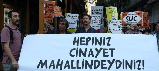 1 Eylül Dünya Barış Günü'nde Hrant Dink öldürüldüğü yerde anıldı