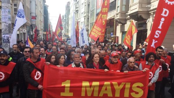 1 Mayıs Tertip Komitesi üyeleri beraat etti