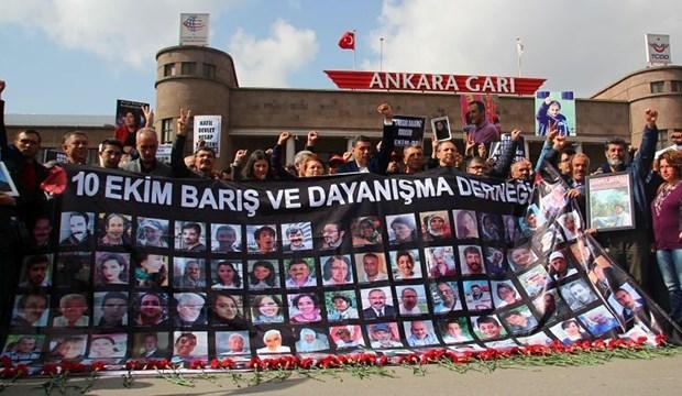 10 Ekim Ankara katliamının 6. ayında, yaşamını yitirenler anıldı