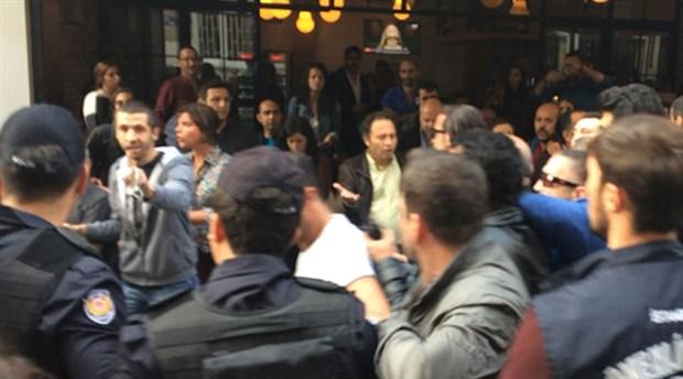 10 Ekim'i anan yurttaşlara saldıran polise esnaf  'dur' dedi