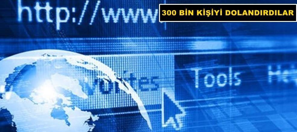 10 Milyon Lira'lık internet vurgunu