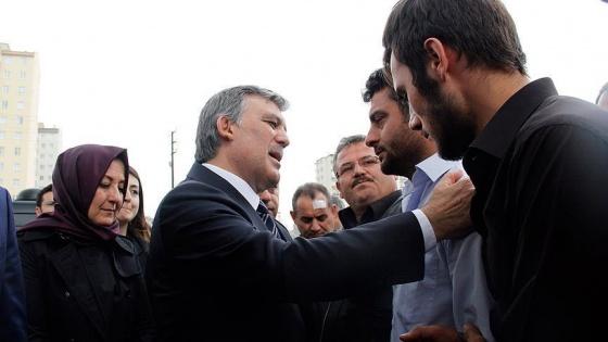 11. Cumhurbaşkanı Gül, şehit ailesine taziyede bulundu