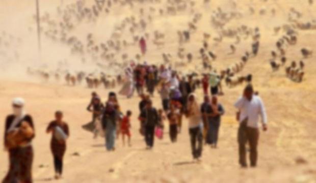 11 yaşında mülteci kuma