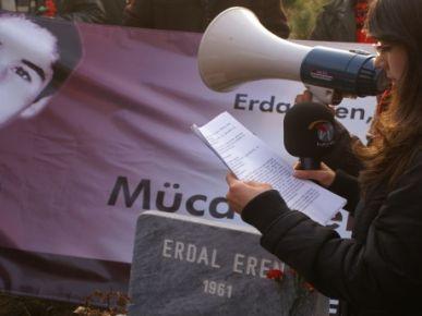12 Eylül kurbanı Erdal Eren anıldı