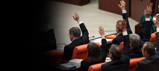 139 milletvekilinin dokunulmazlık dosyası Başbakanlık'ta