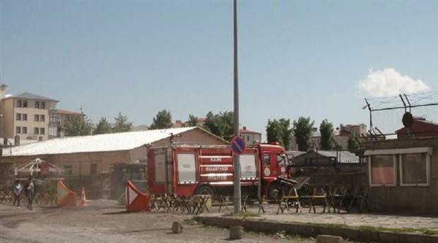14. Mekanize Piyade Tugayı'nda yangın
