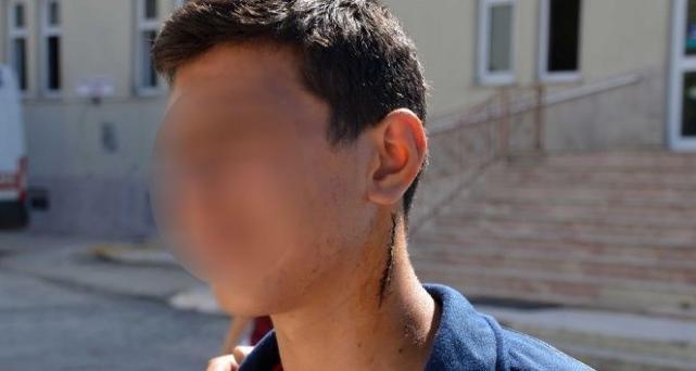 14 yaşındaki çırağını demirle dövdü