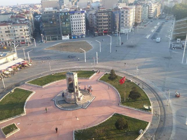 15 Temmuz cuntasından sonra Taksim!