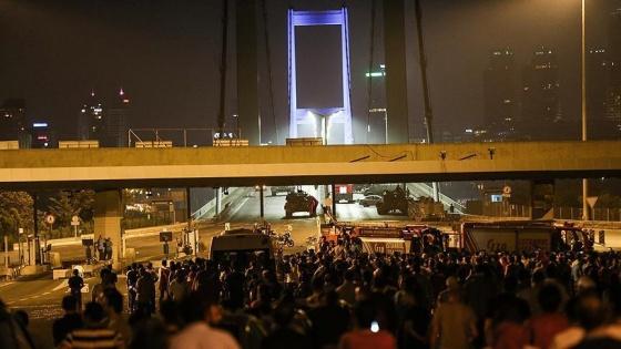 15 Temmuz'da köprüdeki olaylar 8 saat 23 dakika sürdü