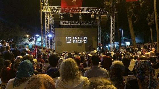 '15 Temmuz En Uzun Geceydi' belgeseli gösterildi
