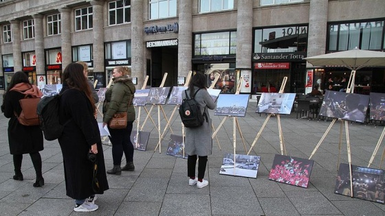 15 Temmuz Fotoğraf Sergisi Köln'de açıldı