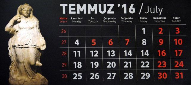 '15 Temmuz hatalı' takvimlere soruşturma açıldı