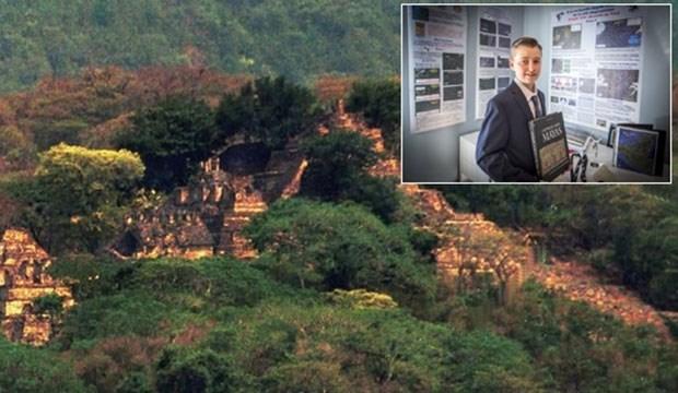 15 yaşındaki Kanadalı, kayıp Maya şehrini buldu