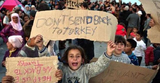 150 sığınmacı daha Türkiye'ye geldi