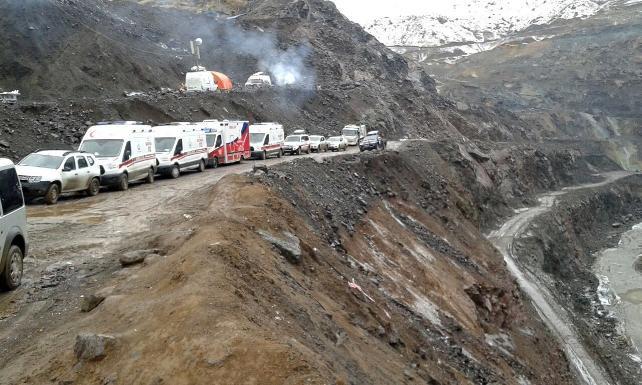 16 işçinin hayatını kaybettiği Şirvan'daki maden faciasında tüm sanıklar tahliye edildi