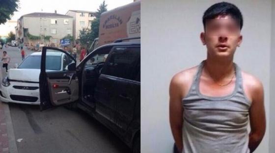 16 yaşındaki suç makinesi Çekmeköy'de yakalandı!