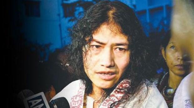 16 yıllık açlık grevini siyaset için bıraktı