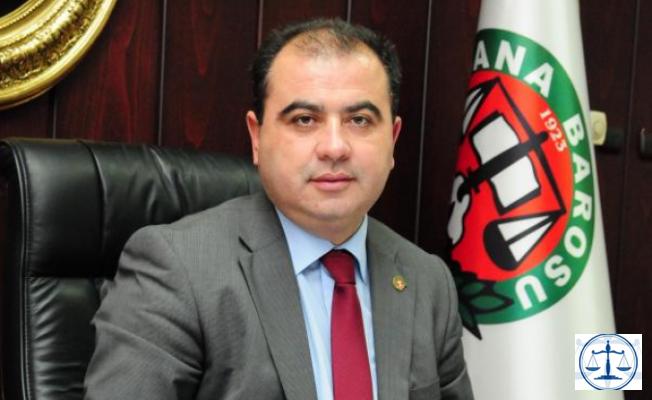 Av. Çıtırık, Adana Barosu Başkanlığına Veda Ediyor