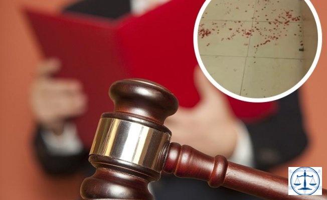 Mahkemede Kan Aktı: Diğer Sanığın Yüzünü ve Kulağını Kesti
