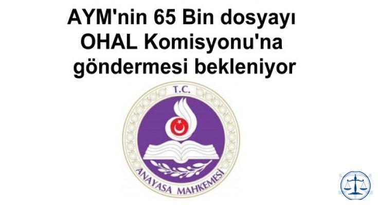 AYM'nin 65 Bin dosyayı OHAL Komisyonu'na göndermesi bekleniyor
