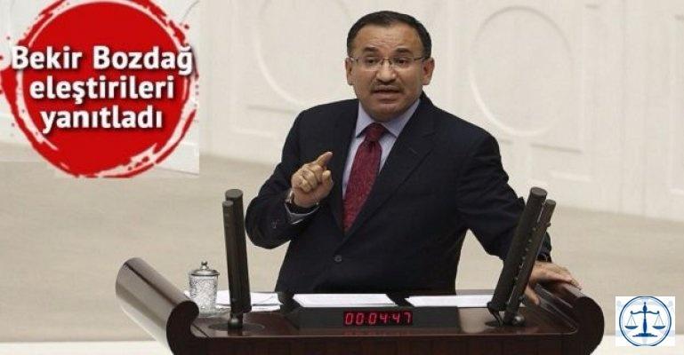 Bozdağ: Bizim yaptığımız Atatürk anayasalarına dönmektir