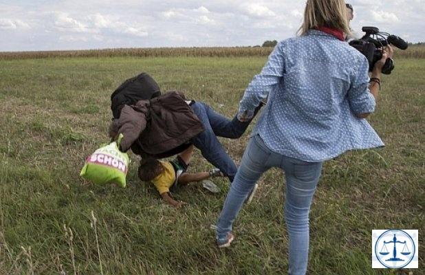 Mülteci çocuğa çelme takan kameramana 3 yıl hapis cezası