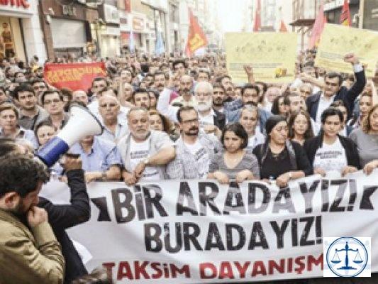 HSYK'dan Taksim Dayanışması'na beraat veren hakime sürgün