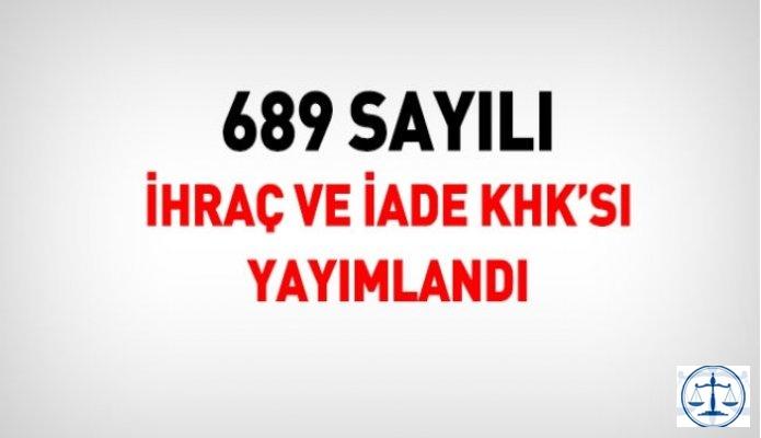 İki yeni KHK: 3939 kişi kamudan ihraç edildi