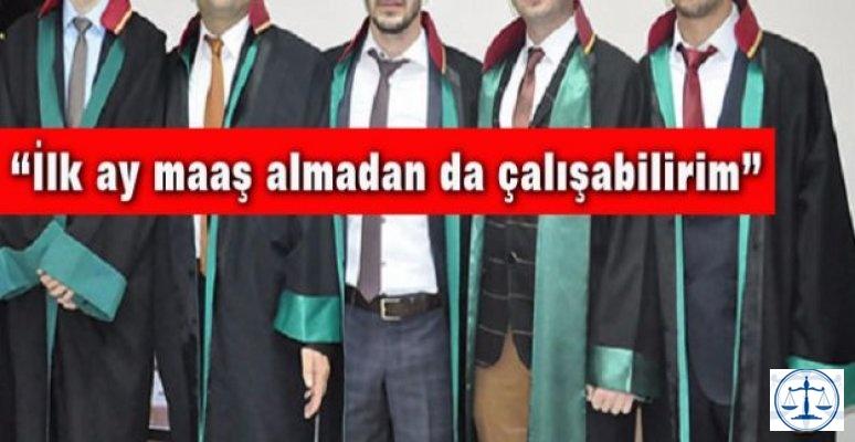 İş arayan genç avukat: Bin 500 lira maaş yeter!