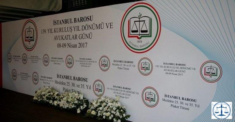 İstanbul Barosu 139 Yaşında