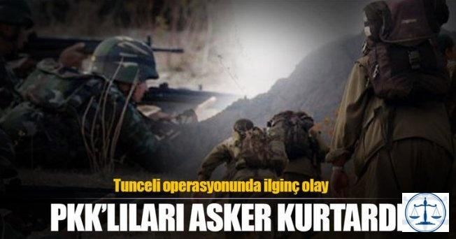 Tunceli'deki operasyonda çok ilginç olay