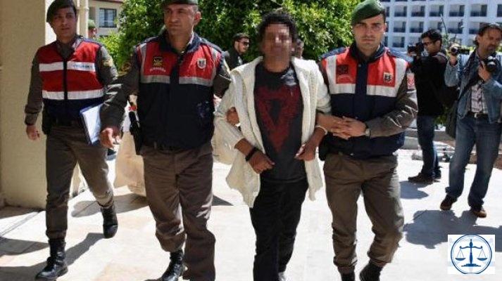 Uyuşturucudan gözaltına alınan oyuncu adliyede