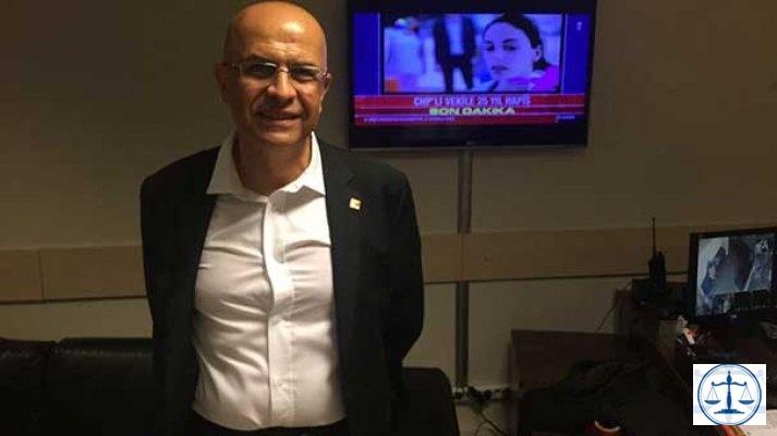 CHP'li Enis Berberoğlu'nun tutukluluğuna itiraz reddedildi