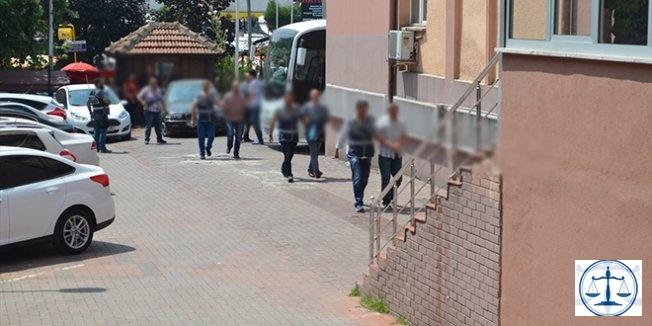 Edremit'te FETÖ/PDY operasyonuna 13 tutuklama