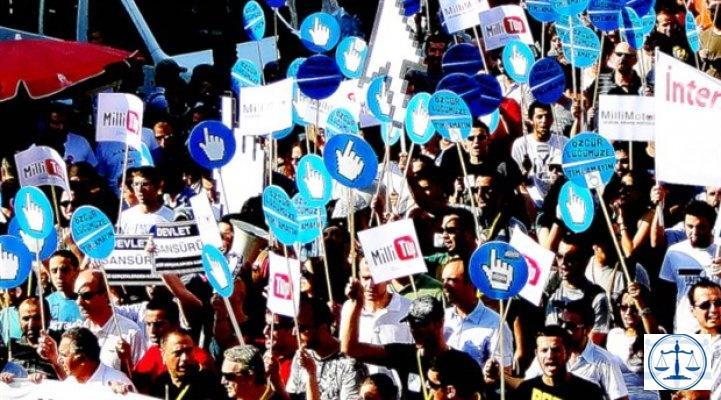 Türkiye'de internet özgür değil
