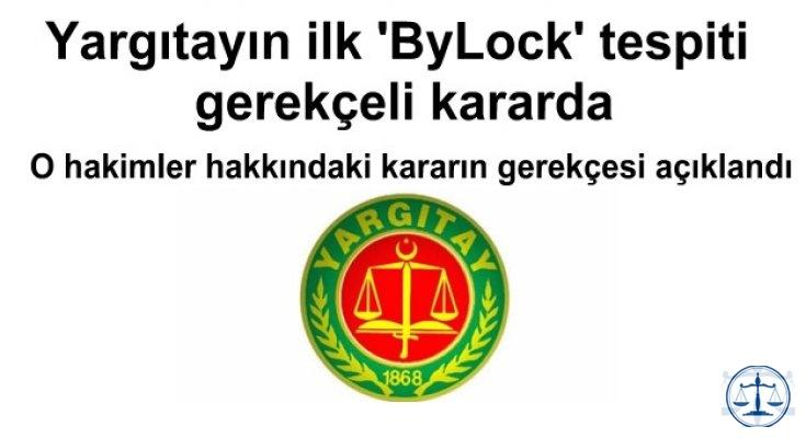Yargıtayın ilk 'ByLock' tespiti  gerekçeli kararda