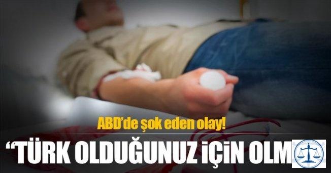 ABD'de kan bağışlamak isteyen Türk'e şok cevap!