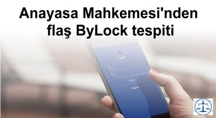 Anayasa Mahkemesi'nden flaş ByLock tespiti