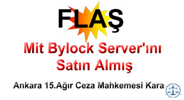 Mit Bylock Server'ını Satın Almış