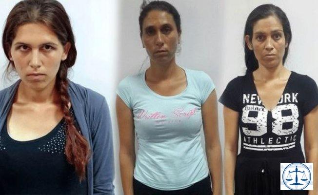 Adana'da tel tokayla çelik kapı açan 3 kadın yakalandı